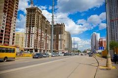 вена строительной площадки здания конструкция здания новая Стоковые Фото