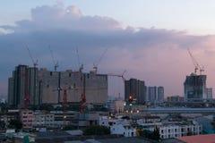 вена строительной площадки здания конструкция здания новая Constru Стоковые Фотографии RF