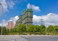 вена строительной площадки здания Стоковое Фото