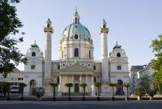 вена церков charles стоковая фотография