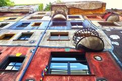 Вена Hundertwasserhaus Стоковые Изображения RF