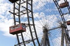 Вена, Prater, гигантское колесо Стоковое Изображение