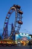 Вена, Prater, гигантское колесо Стоковые Изображения