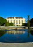 вена schonbrunn дворца Стоковое Фото