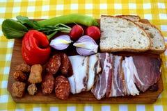 Венгерская еда Стоковое Изображение RF