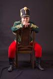 Венгерская женщина Гусара стоковая фотография rf