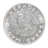 Венгерская монетка заполнителя Стоковая Фотография RF