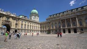 Венгерская национальная галерея в Будапеште сток-видео