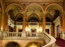 Венгерская опера Будапешт положения Стоковое Изображение RF