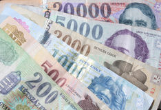венгерские деньги Стоковые Фото