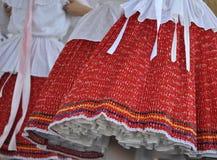 Венгерские фольклорные танцоры Стоковое Фото