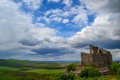 Венгерский замок на Holloko Стоковая Фотография RF