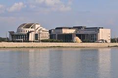 венгерский национальный театр Стоковая Фотография RF