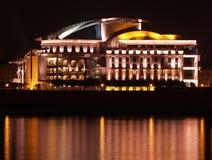 Венгерский национальный театр Стоковая Фотография