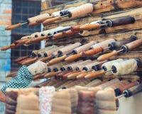 Венгерский национальный торт печной трубы испеченный на ручке стоковые изображения