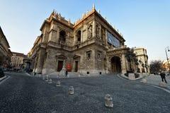 Венгерский оперный театр положения стоковое фото rf