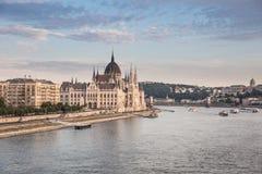 венгерский парламент Стоковое Изображение