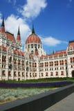 Венгерский парламент BuildingThe парламента Будапешта Стоковые Изображения