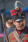 Венгерский солдат пехоты - Гусар Стоковое фото RF