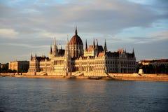 Венгерское здание парламента Стоковая Фотография