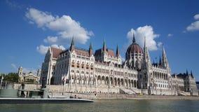 Венгерское здание парламента стоковое фото