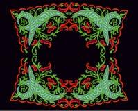 Венгерское народное искусство иллюстрация вектора