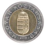 Венгерское foint монетки Стоковые Изображения