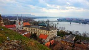 Венгрия-Esztergom стоковое фото rf
