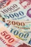 венгр forint Стоковое фото RF