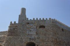 Венецианская крепость Koules Стоковые Изображения RF