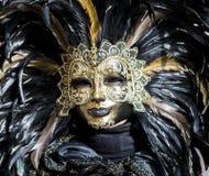 Венецианская маска масленицы Стоковое Изображение RF