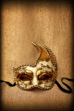Венецианская маска масленицы в винтажном стиле Стоковые Фотографии RF
