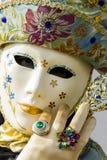 Венецианская маска масленицы Стоковые Изображения