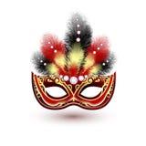 Венецианская эмблема маски масленицы бесплатная иллюстрация