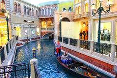 Венецианские гостиница и казино в Лас-Вегас стоковые изображения rf