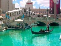 Венецианские курортный отель & казино, Las Vagas, Невада, США стоковая фотография rf