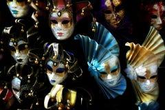 Венецианские маски масленицы, Италия Стоковая Фотография
