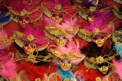Венецианские маски масленицы для продажи Стоковое Фото