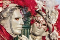 Венецианские пары Стоковые Изображения RF