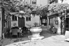 Венецианский двор Стоковые Изображения