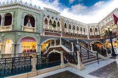 венецианский торговый центр Стоковое фото RF