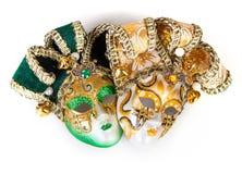 2 венецианских маски Стоковая Фотография