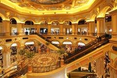Венецианское казино в Макао Стоковые Изображения RF