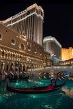 Венецианское на ноче Стоковые Фото