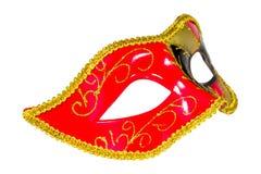 Венецианской изображение масленицы сделанное по образцу маской несимметричное прифронтовое Стоковые Фото