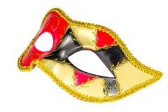 Венецианской изображение масленицы сделанное по образцу маской несимметричное прифронтовое Стоковое Изображение RF
