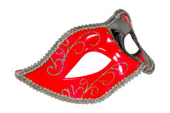 Венецианской изображение масленицы сделанное по образцу маской несимметричное прифронтовое Стоковые Изображения