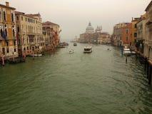 Венеция в туманах стоковые изображения rf