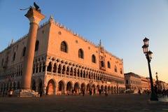 Венеция в утре Стоковые Фото