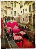 Венеция - гондолы Стоковое фото RF